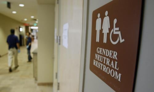 North Carolina Trans People Given Right To Use Bathrooms Matching Identity Transgender The Guardian