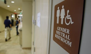 A gender-neutral bathroom at the University of Vermont in the US.