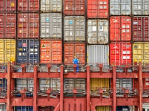 Joseph Furness,  lost and lonely among 18,000 containers