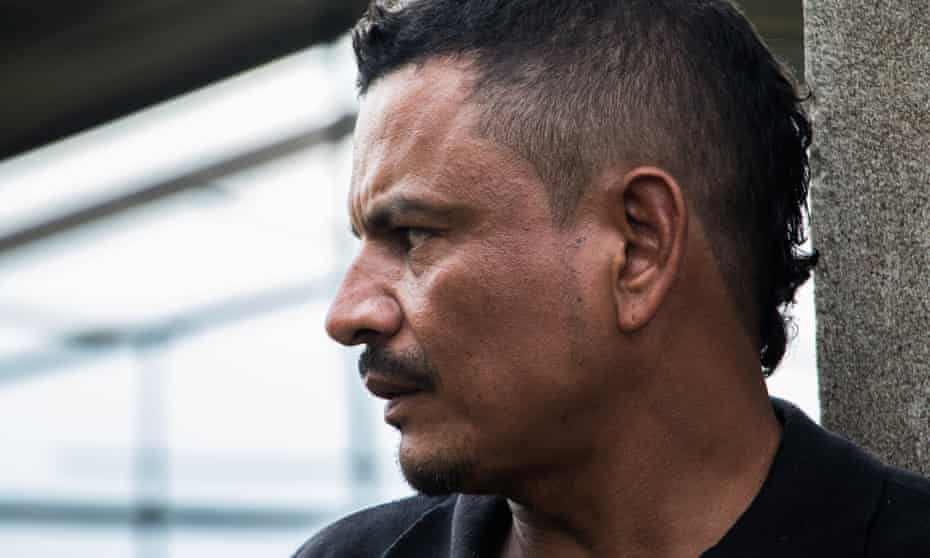 Rubiel Idarraga, former explosives expert for the Farc, now works in construction in Cali, Colombia
