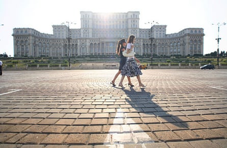 The scale of the Palace of Parliament, or Casa Poporului, beggars belief.