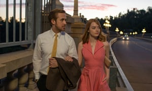 'La La Land might be set in contemporary Hollywood but it's a deliberate hark back to the golden age with extravagant set-pieces and a relative lack of cynicism' ... La La Land