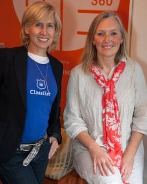 Clare Wright and Susan Burton.