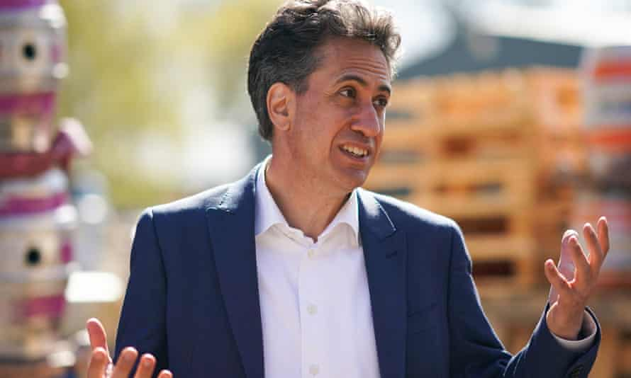 Ed Miliband visits Ilkley brewery in West Yorkshire last month