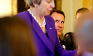 Theresa May with Jeremy Hunt