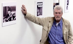 Robert Freeman in 2006 at his exhibition of Beatle photographs in Valencia