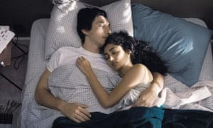 Adam Driver and Golshifteh Farahani in the 'stage-managed' Paterson