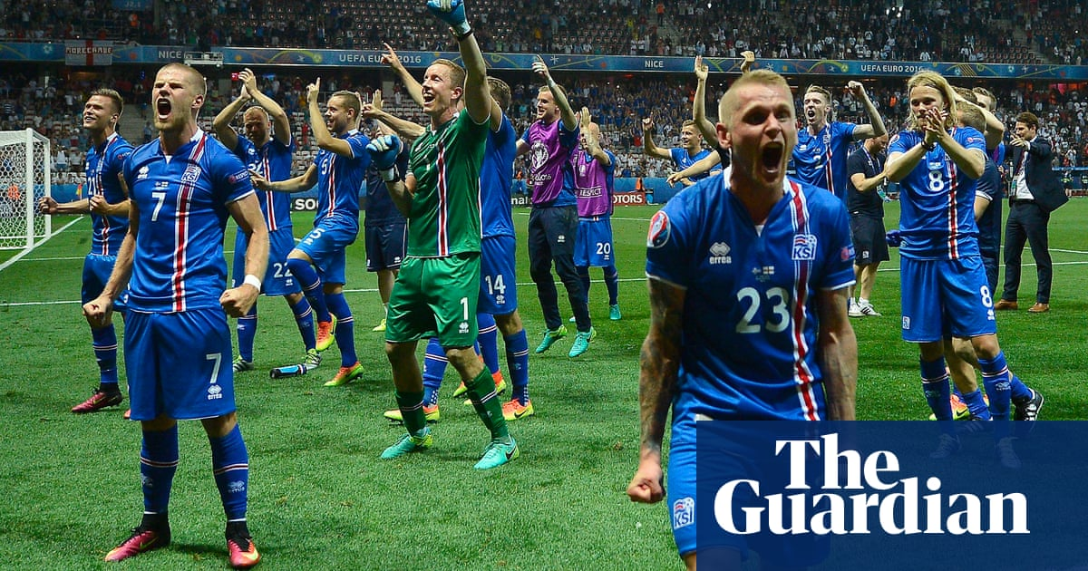 5bc2daf9d A 2016 football moment to remember  Iceland light up Euro 2016. Increasing  the European Championship ...