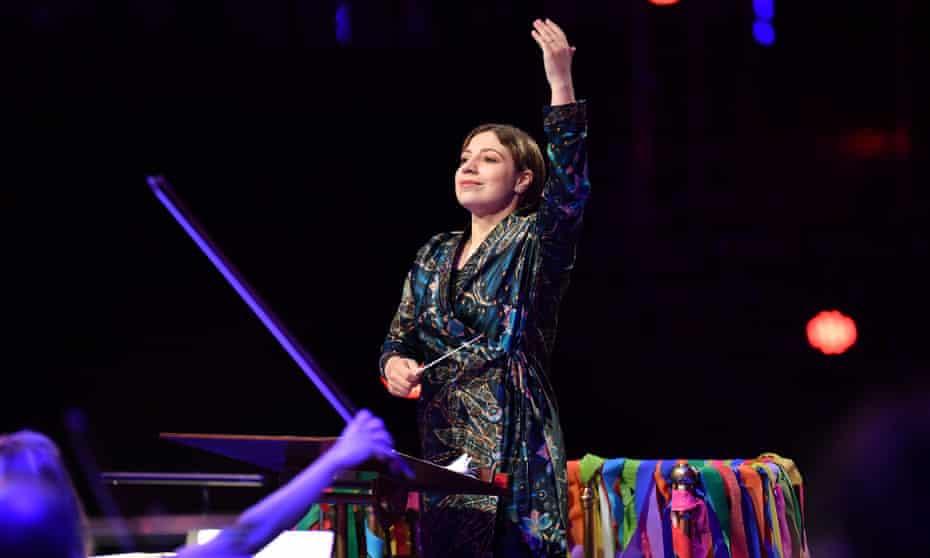 The Finnish conductor Dalia Stasevska