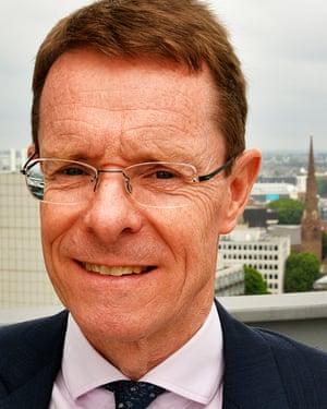 West Midlands mayor Andy Street.