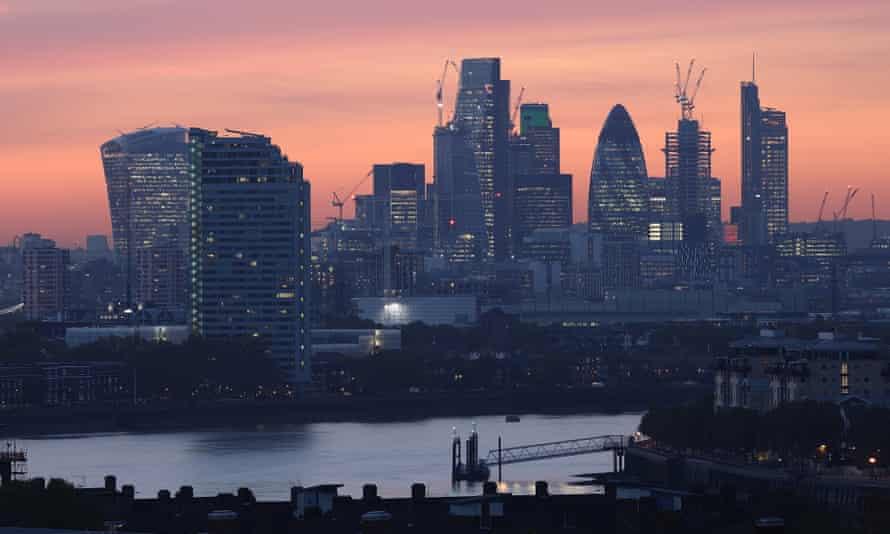 City of London horizon