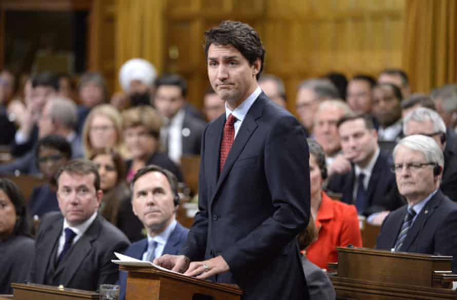 Justin Trudeau comments in parliament after the Quebec mosque shootings.