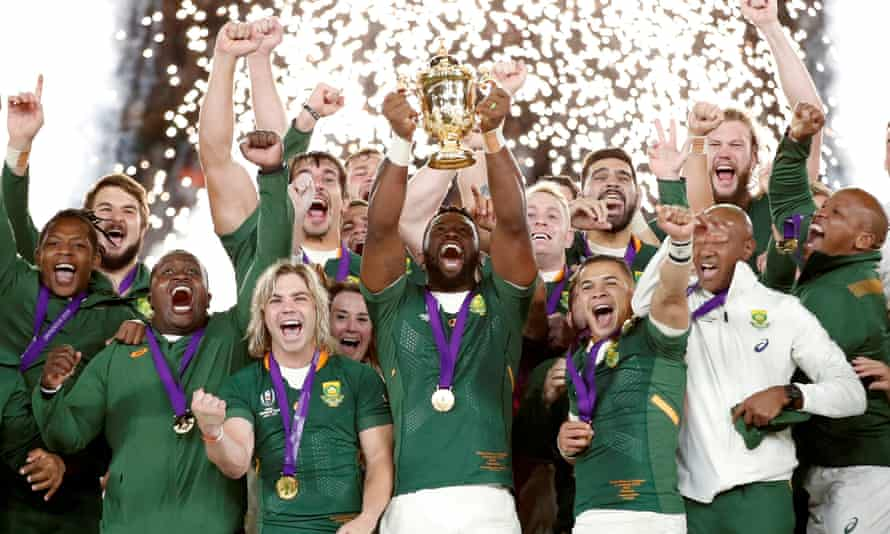 South Africa lift the World Cup in 2019