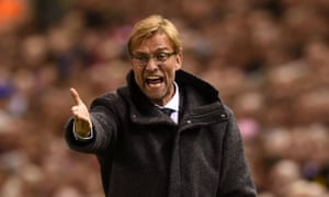 Frustration for Jurgen Klopp during his first match at Anfield.