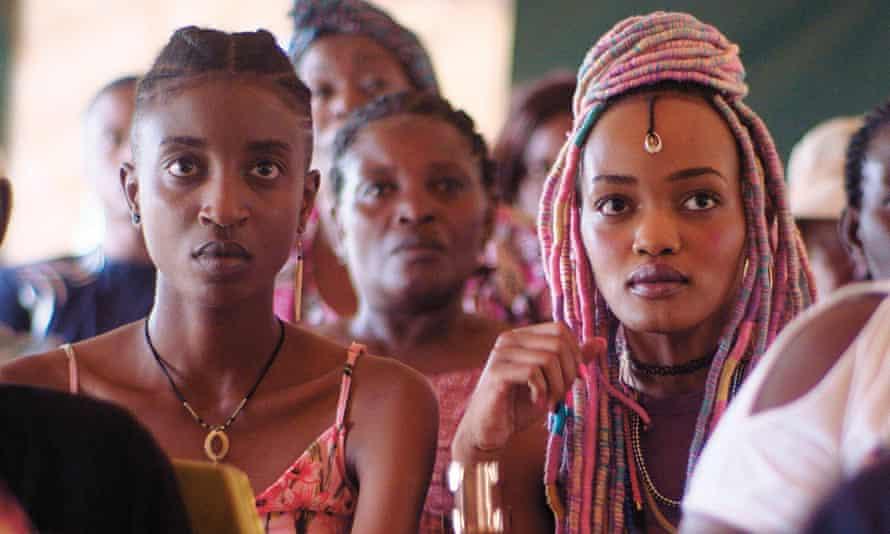 Samantha Mugatsia (left) and Sheila Munyiva in Rafiki, directed by Wanuri Kahiu.