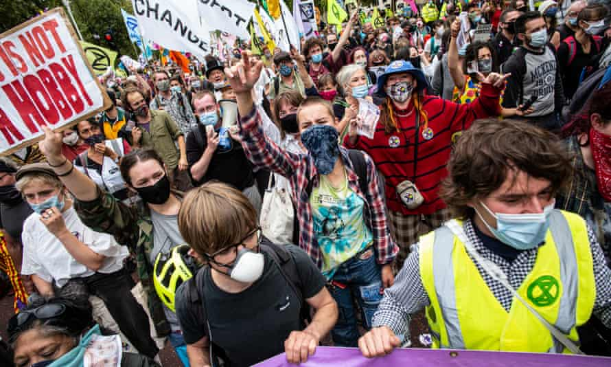 Extinction Rebellion has organised several events across the UK this week, timed for the return of government officials after the summer break.