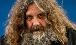 Story of a 'gentle monster on the run' … Alan Moore.