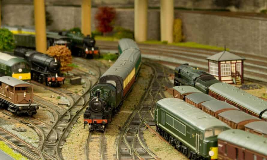 Model railway set