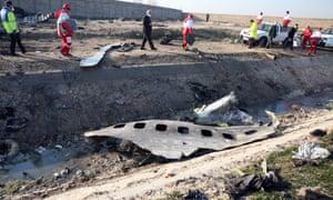 Flight 752 wreckage.