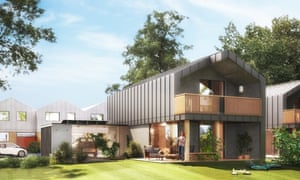 The nHouse has been designed by the architect Richard Hywel Evans and is made in four modules