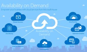 Microsoft's Azure cloud service.
