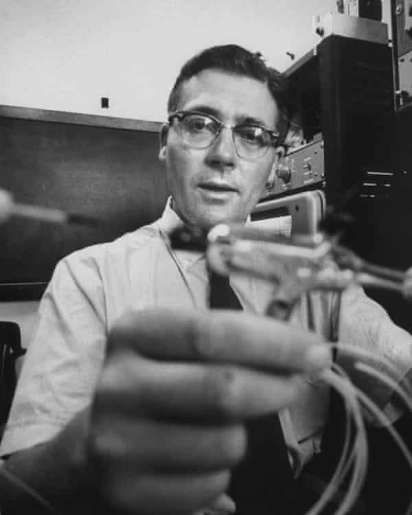 James Lovelock in 1962, when he was doing research on a Nasa grant at University of Houston.