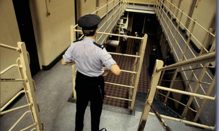 High-risk: prisons officers are said to live only on average 18 months after retirement.