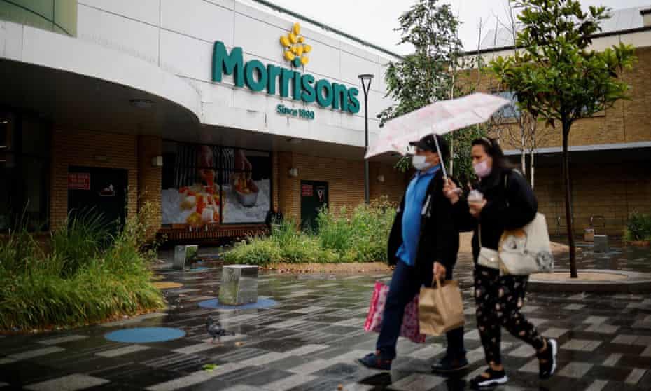 A Morrisons supermarket in Stratford, east London.