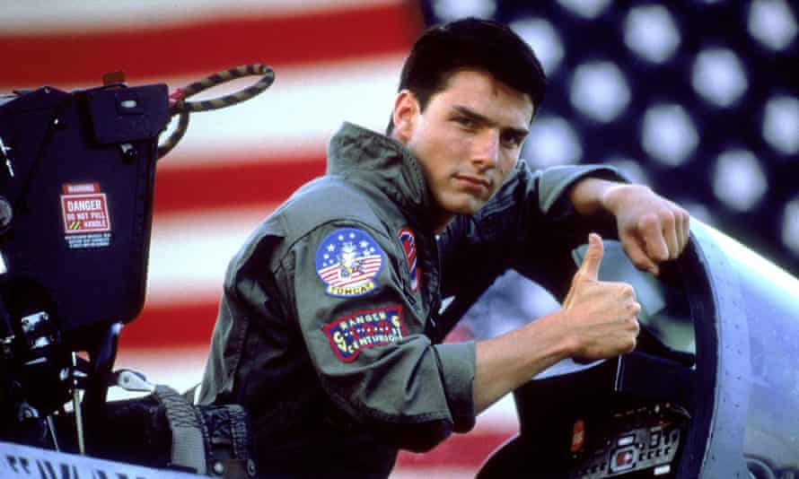 The navy saw a 500% increase in enlistments the year of Top Gun's release.