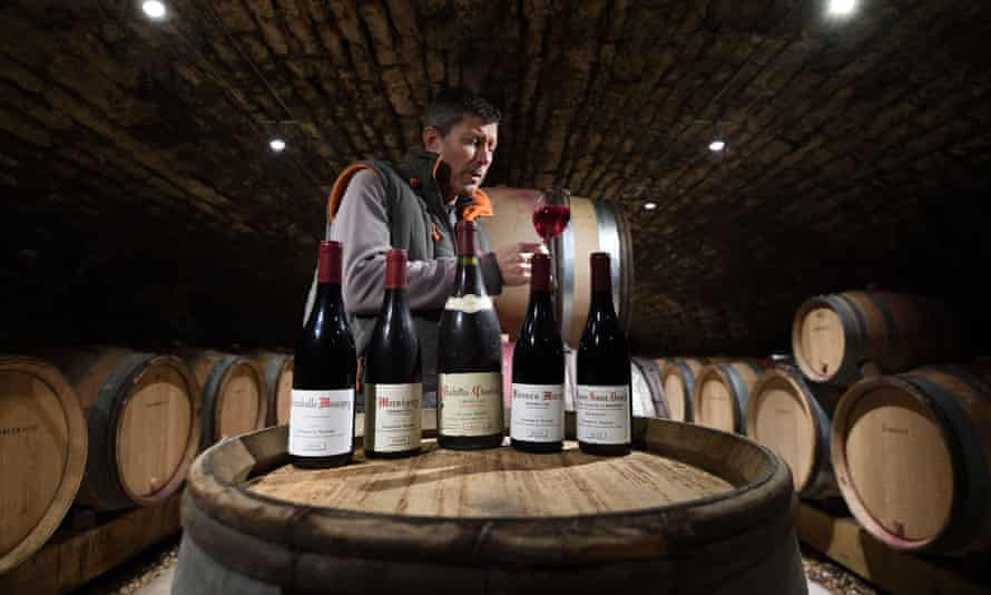 A French winemaker