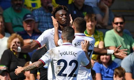 Norwich City 2-3 Chelsea: Premier League – as it happened