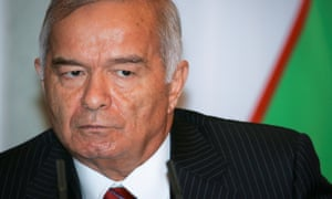 Uzbekistan's president, Islam Karimov, had an appalling human rights record, once threatening to rip off the heads of 200 people.
