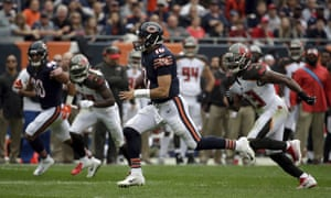 Mitchell Trubisky had his most impressive game as a Chicago Bear on Sunday