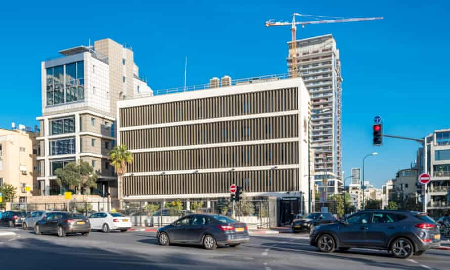 The Embassy of the United Kingdom in Tel Aviv, Israel