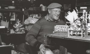 The toymaker Ron Fuller in his workshop