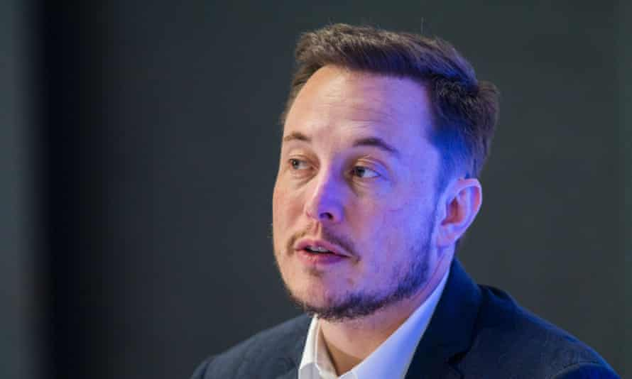 Elon Musk speaks at a press conference during the 67th International Astronautical Congress in Guadalajara, Mexico on September 27, 2016.