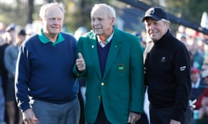 Jack Nicklaus, Arnold Palmer and Gary Player