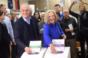 Malcolm Turnbull and his wife Lucy