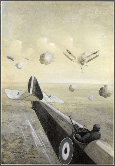 A Direct Hit by Geoffrey Watson, 1918