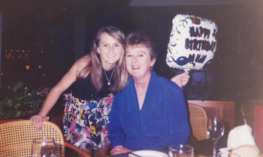 Julia McCuaig and her mum, Anne McCuaig