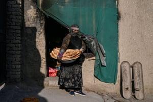 Kabul, Afghanistan: Zainab Sharifi, baker