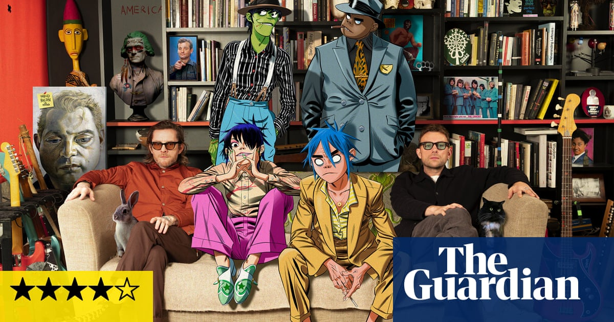 Gorillaz: Song Machine Season One: Strange Timez review – playful and potent collaboration