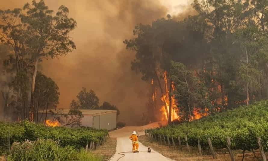 Australia has had an 'unprecedented' start to the bushfire season.