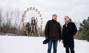 Chernobyl, Ukraine, 17 Jan 2019. Ukrainian born American historian and university teacher Serhii Plokhii photographed in Chernobyl area. © Niels Ackermann / Lundi13