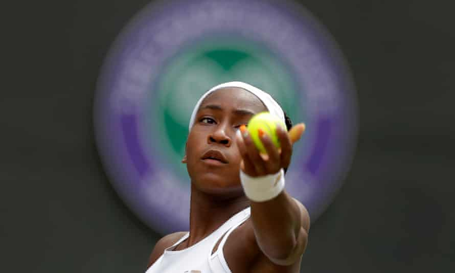 Coco Gauff insists her next ambition is just to finish high school.