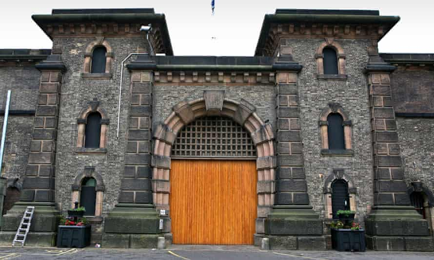 Entrance gate to Wandsworth prison