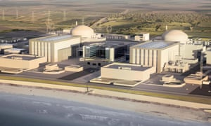 Artist's impression of how the new Hinkley Point C station will look.