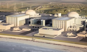 Artist's impression of how the Hinkley Point C station will look