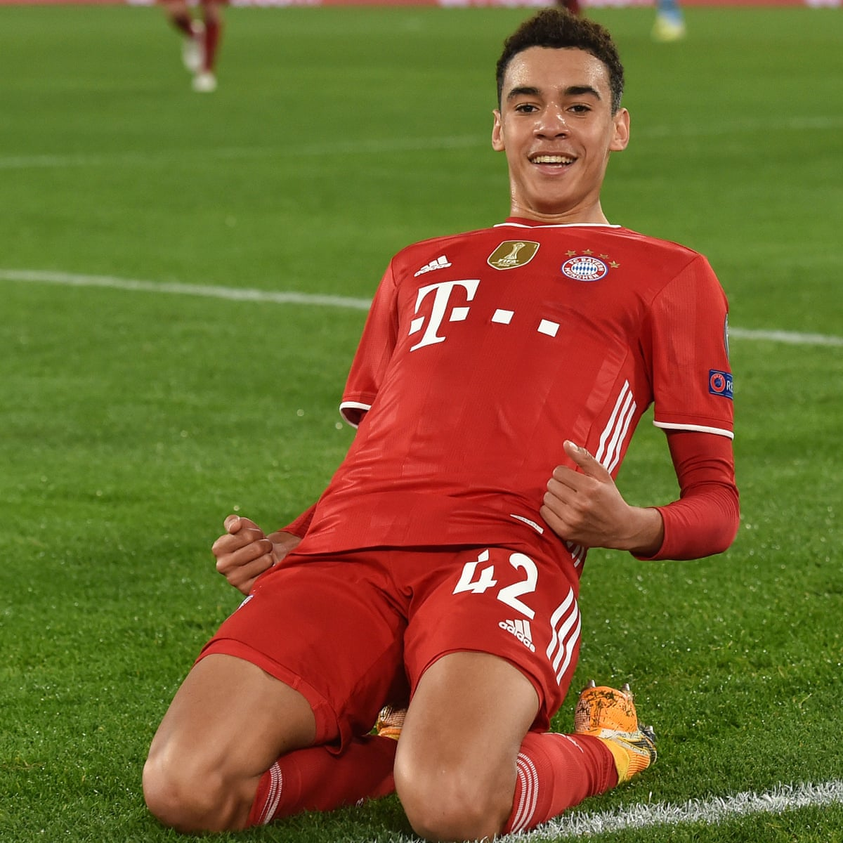Bayern Munich's Jamal Musiala pledges future to Germany rather than England  | Germany | The Guardian