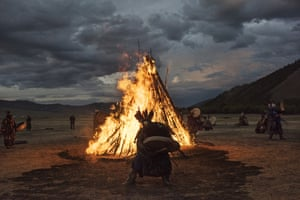 It is believed there are more than 10,000 shamans in Mongolia